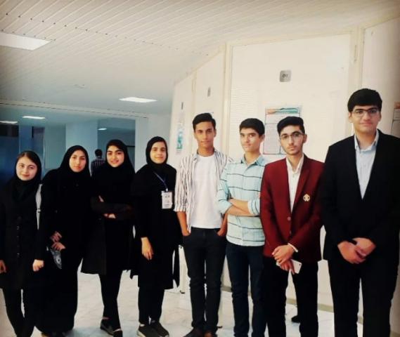 درخشش دانش آموزان و دانشجویان فعال کارگروه توسعه دانش علوم اعصاب علوم پزشکی تربت حیدریه در سومین همایش بین المللی التهاب سیستم عصبی مشهد